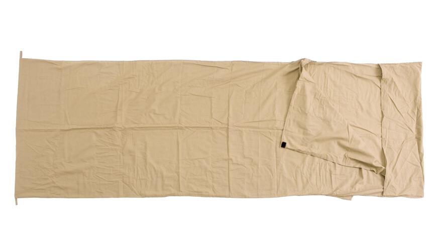 Basic Nature vandrehjemssovepose Sovepose beige